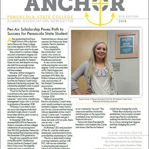 decorative image of alumni-anchor-2018 , Alumni Anchor | Fall 2018 2018-11-01 07:22:23