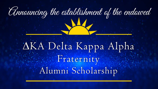 decorative image of dka , Announcing the establishment of the endowed Gary A. DeLapp Alumni Scholarship 2019-05-08 13:53:36