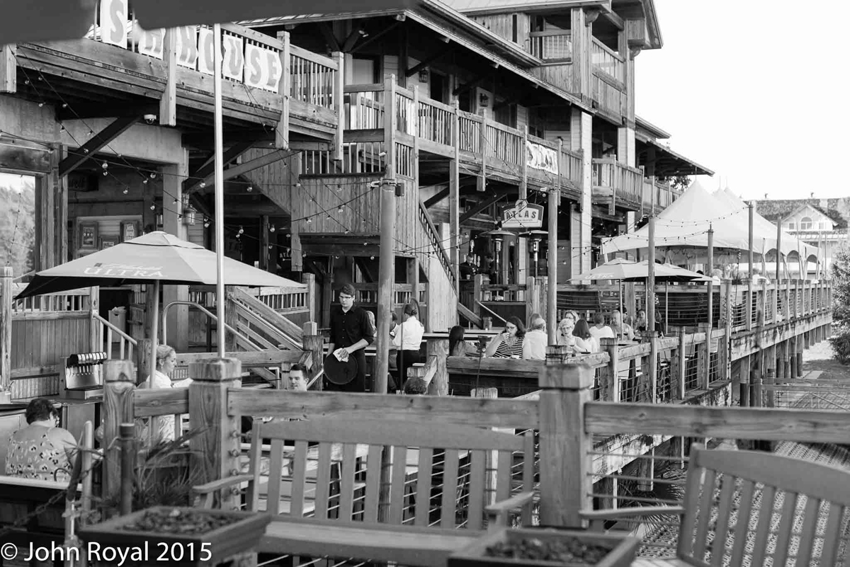 decorative image of The-Deck-in-Black-and-White , Fish House 10-29-2015 2015-11-06 13:32:11