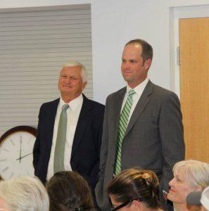 Alum Bryan Lewallyn is new Baseball Coach