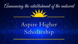decorative image of aspire , Announcing the establishment of the endowed Gary A. DeLapp Alumni Scholarship 2019-05-08 13:53:37