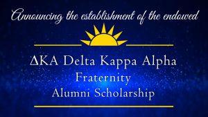 decorative image of dka , Announcing the establishment of the endowed Gary A. DeLapp Alumni Scholarship 2019-05-08 13:53:36