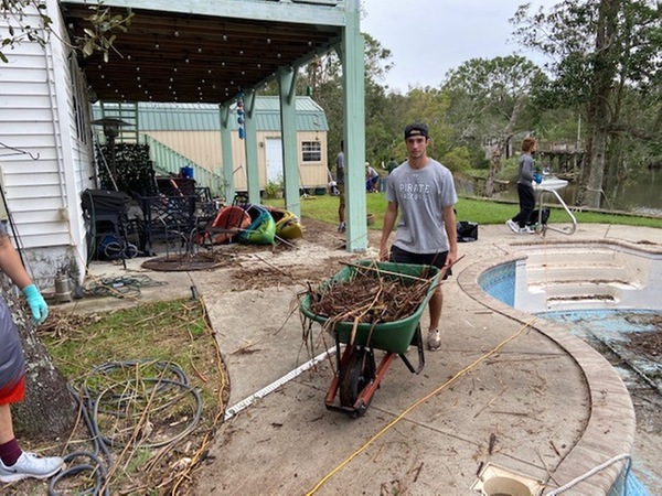 decorative image of y5btepoj9quv31oy , Head Baseball Coach and Former Pirate, Bryan Lewallyn, leads the charge as PSC Student-Athletes Help Community Recover From Hurricane Sally 2020-10-14 13:03:03