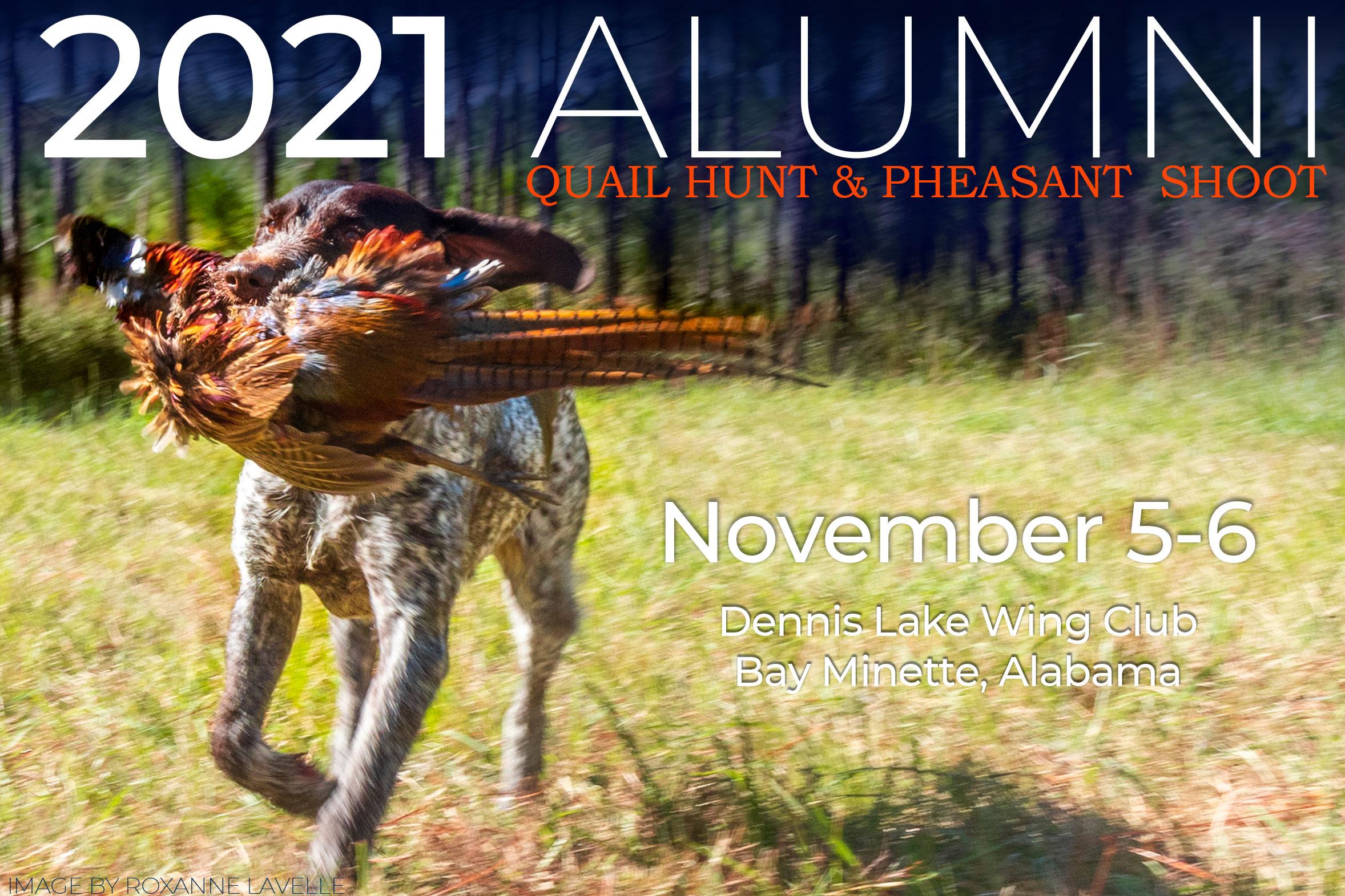decorative image of 2021-Pheasant-Hunt-cover , Alumni Quail & Pheasant Hunt 2021-05-17 06:28:26